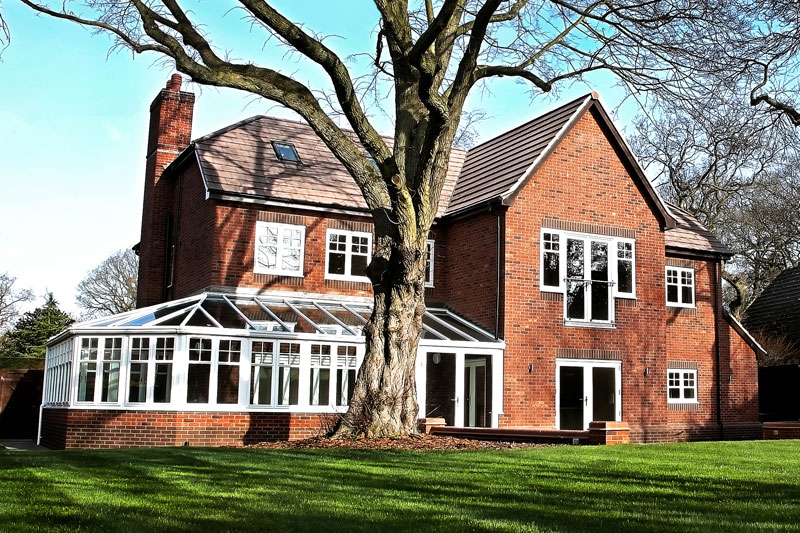 Coombe Park Rear Elevation