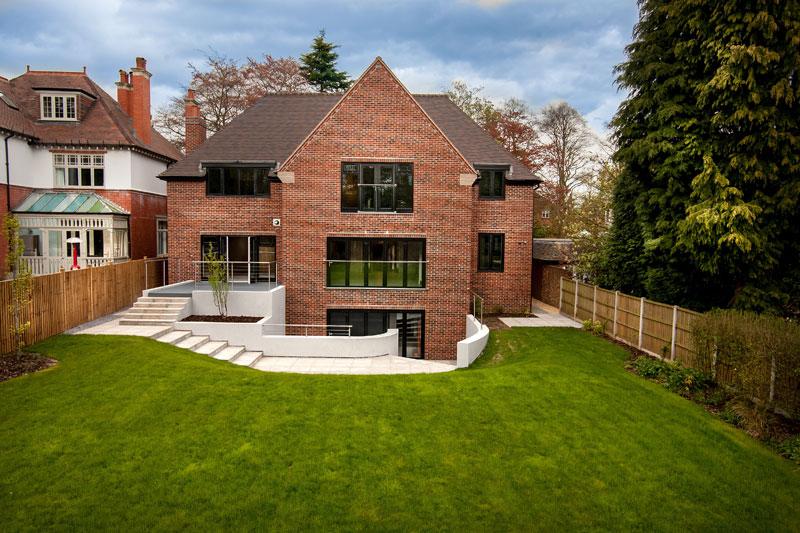 Longdon House Back